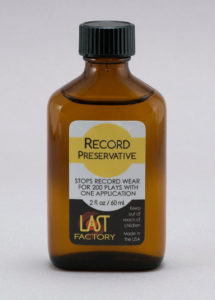 Last Record Preservative 2oz.