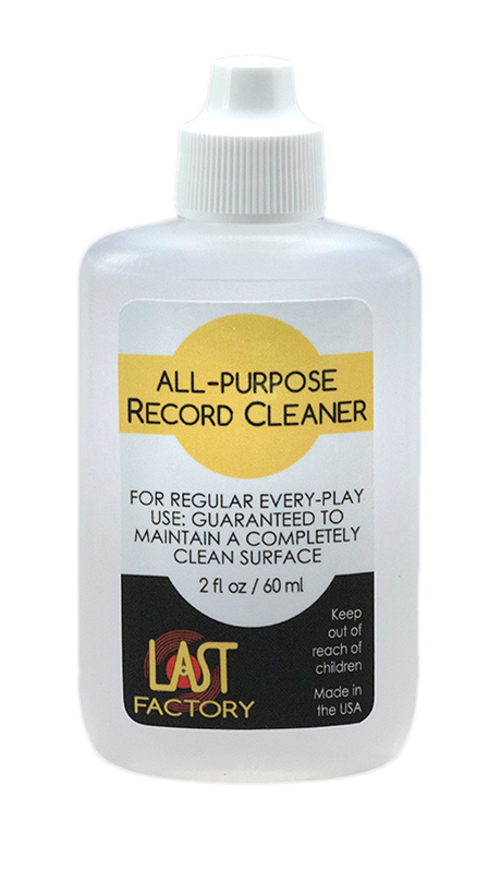 All-Purpose Record Cleaner for vinyl records, 2oz.